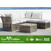 Wholesale All Weather Suitable Outdoor Furniture Pe Rattan Sofa Set from china suppliers