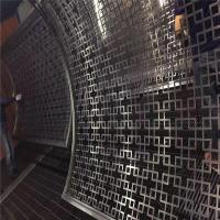 Buy cheap stainless steel curved panel decorative curved screen for room partition from wholesalers