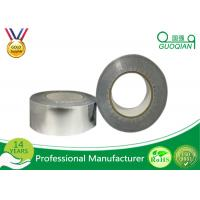 Wholesale High Heat Aluminum Foil Tape With Adhesive Sliver / White Color from china suppliers