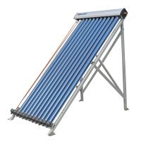 Wholesale U Pipe  15 Tubes Solar Collector With Black Aluminum Alloy Frame from china suppliers