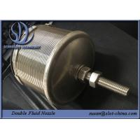 Wholesale Stainless Steel 316L Double Fluid Nozzle For Water Processing / Water Cleaning from china suppliers