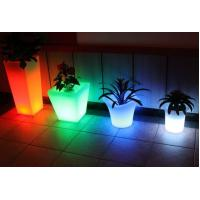 Wholesale rotomoulding LED flower pot, plastic flower pot from china suppliers