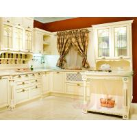 Quality Exquisite solid wood kitchen cabinet classic style wood kitchen cabinet kitchen cupboard for sale
