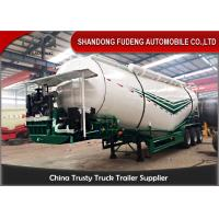 Wholesale 3 Axles Bulk Cement Tanker 30-75 CBM  Mechanical / Air / Bogie Suspension from china suppliers