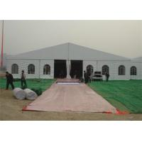 Wholesale Durable Outdoor Warehouse Tents , Temporary Fabric Structures With Clear Window from china suppliers
