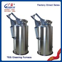Wholesale polymer PE TEG cleaning machine factory direct sell from china suppliers