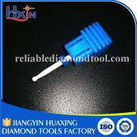 Wholesale Small Ball Type Medium Ceramic Nail Drill Bit With Shank Diameter 2.3mm White from china suppliers