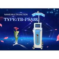 Wholesale Diamond Microdermabrasion Machine LED Therapy Light Device with Skin Scrubber Microcurrent from china suppliers