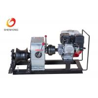 Wholesale 3 Ton Petrol Gas Engine Powered Winch 1 Year Warranty For Power Construction from china suppliers