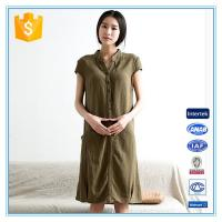 Wholesale 2016 New Ladies Hot Sale Plus Size Linen Dress Manufacturer In China from china suppliers
