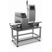Wholesale High speed combined metal detection and check weigher machine for metal detection and weight sorting process from china suppliers