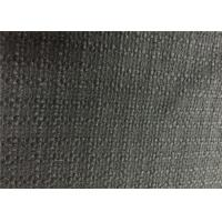 600G/M Alpaca Wool Fabric Black Low Weight For Living Room Upholstery
