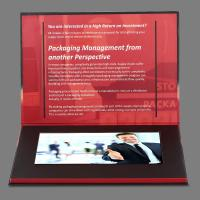 Wholesale Advertisement 7 inch Lcd Video Brochure Card / Lcd Video Business Cards from china suppliers