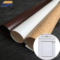 Wholesale Matte Wood Grain Pvc Membrane Foil For Doors Width 1260mm Eco Friendly from china suppliers