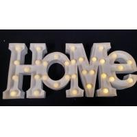 Wholesale Customized 12 Inch LED Letter Lights Battery Powered For Holiday Decoration from china suppliers