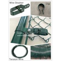 Wholesale Heat Treated Security Chain Link Fence Pvc Coated OEM / ODM Available from china suppliers