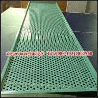 Wholesale bending aluminum perforated metal sheet from china suppliers