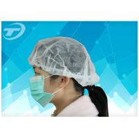 Wholesale Blue Disposable Surgical Caps PP SMS For Doctor With Ties At Back 61*14cm from china suppliers