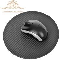 Wholesale Round Shape Top Quality Carbon Fiber  Durable Fashion Mouse Mat from china suppliers
