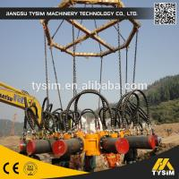 Buy cheap 300mm-1050mm diameter Crush breaker Round/square Hydraulic Concrete Pile Head For Excavator 280kN  KP315A from wholesalers
