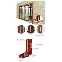 Quality Living Room Entrance Aluminum Foldable Glass Door Flexible Sliding Closed for sale