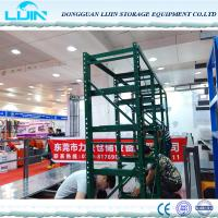 Quality Anti Corrosion Warehouse Storage Rack Systems , Custom Warehouse Steel Racks for sale
