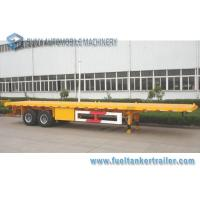 Wholesale Container Transport 40FT Flat Bed Trailer 2 Axle Trailer ISO from china suppliers