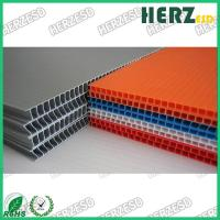 Wholesale Colorful ESD Corrugated Plastic Sheet Lightweight Max Width 1.5M Thickness 2-8mm from china suppliers