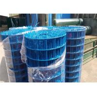 Wholesale Professional Blue PVC Coated Wire Mesh 20 Gauge Rust Resistance from china suppliers