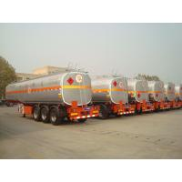 Wholesale new air suspension truck fuel tanks semi trailer for sale with tool box from china suppliers