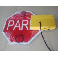 Wholesale Flashing Led Automatic Foldable Stop Signs Waterproof up to IP54 Built-in Buzzer from china suppliers