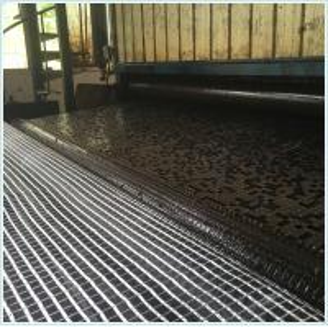 Buy cheap Bitumen coated fiberglass geogrid 50/50KN/M 100/100/KN/M 120/120KN/M 150/150/KN/M 200/200KN/M for asphalt reinforcement from wholesalers