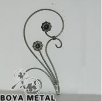 Wholesale Decorative Wrought Iron Scroll Casting Designs from china suppliers