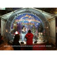 Quality Custom Christmas Human Advertising Inflatables Snow Globe For Show / Decoration for sale