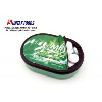 Buy cheap Strongest Fresh Breath Mints Green Colored Candy Artificial Ingredient from wholesalers
