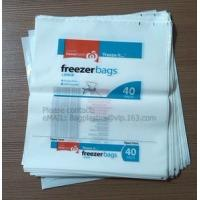 Wholesale freezer bags, plastic bags, packaging bags, storage bags, poly bags, packing bag, food bag from china suppliers