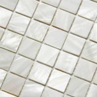 Wholesale Handmade Beautiful Sea shell Wall Mosaic Freshwater Sea Shell Mosaic 20x20mm 305x305mm from china suppliers