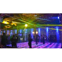 Wholesale Square Dmx / Sensitive Interactive Led Dance Floor Full Color Underground Decoration from china suppliers