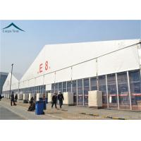 Wholesale PVC Roof Outdoor Exhibition Tents White / Clear / Orange , Fire Proof And Water Proof from china suppliers
