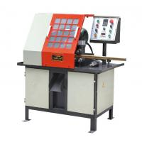 Quality Brass Lock Body Iron / Aluminum CNC Metal Cutting Machine With Control Protective Cover for sale