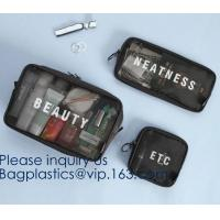Wholesale Packing Cubes Travel Luggage Organizers with Toiletry Cosmetic Makeup Bag & Shoe Bag,organizer bag, Travel Makeup Pouch from china suppliers