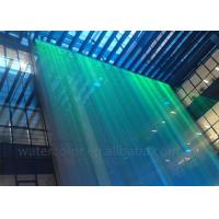 Wholesale Optional Fiber Water Curtain Indoor Water Fountain With Beautiful Rgb Lightings from china suppliers
