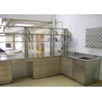 Wholesale Full Stainless Steel Lab Furniture , Custom Made School Science Lab Cabinets from china suppliers