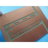 Buy cheap Heavy Copper PCB Built On Aluminum Base With 10 Oz Copper Weight from wholesalers