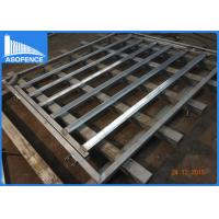 Wholesale Full Welded Portable Cattle Yard Panel Smooth Surface With Galvanized Foot Plates from china suppliers