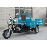 Wholesale Custom Manul Clutch Motorized Cargo Trike , 150CC 200CC 250CC Motor Tricycle from china suppliers
