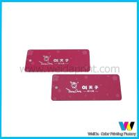 Wholesale Glossy Lamination Garment Advertising Printable Paper Tags with Small Cut Hole from china suppliers