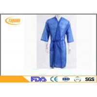 Wholesale Soft Relaxable Disposable Sauna Gown / Hotel Dress Disposable Bath Robes from china suppliers