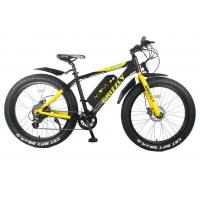Wholesale 26 Inch 36v 350w Electric Fat Bike , Rear Brushless Geared Fat Tire Electric Bike from china suppliers