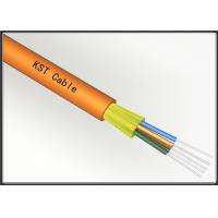Wholesale Multimode Direct Burial Fiber Optic Cable , Kevlar Yarn Buffered Fiber Cable from china suppliers